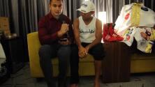 Román 'Chocolatito' González nos recibe a horas de su pelea con McWillams Arroyo