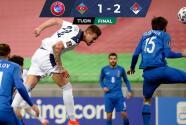 Serbia cumplió y se llevó importante triunfo de Azerbaiyán