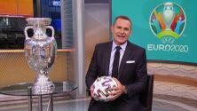 El trofeo de la Eurocopa está en Univision a 100 días de su esperado inicio en pandemia