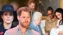 """Meghan Markle y Harry no quedaron satisfechos con la respuesta de la reina Isabel ante el """"racismo"""" contra Archie"""