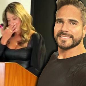 Daniella Álvarez derrama lágrimas de felicidad por lo que Daniel Arenas significa en su vida