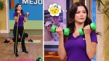 Ana Patricia descubrió cuáles son los ejercicios adecuados para dormir mejor