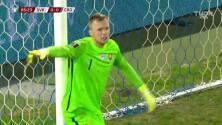 ¡GOL!  anota para Croacia. Marcelo Brozovic