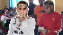 Polémico rapero Tekashi regala dinero en México mientras podría ser encarcelado por violar libertad condicional