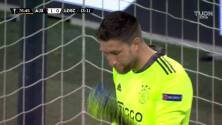 ¡Gol del Lille! Yazici puso el empate ante el Ajax de Edson
