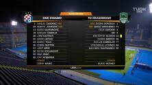 Resumen del partido Dinamo Zagreb vs FK Krasnodar