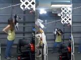 Mujer trata de matar a su gato con sus propias manos y todo queda grabado en video