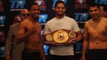 Félix 'Diamante' Verdejo y 'La Boa' Rodríguez en peso para Solo Boxeo por Unimás