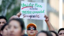 Protesta de dreamers en California contra posible fin de DACA