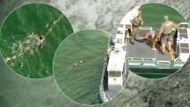 Autoridades logran detener embarcación que amenazaba con atropellar a bañistas en Florida