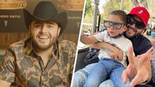 """'Quiero ir a cantar contigo"""": Las palabras con las que el hijo de Gerardo Ortiz derritió a su papá, y lo puso a analizar si quiere que siga sus pasos"""