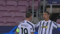 ¡Le repite la dosis al Barcelona! Cristiano Ronaldo firma el 0-3 de Juventus
