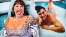 Emocionada, la hija de 'El Puma' comparte sus primeras fotos en traje de baño tras perder más de 50 libras