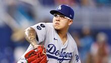 ¡Julio Urías está intratable esta temporada con los Dodgers!