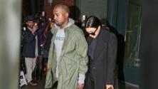 Kim Kardashian y Kanye West derraman miel a pesar de la lluvia