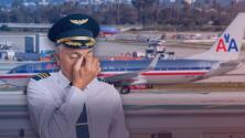 """""""No damos abasto"""": Pilotos de American Airlines protestan ante su situación laboral"""