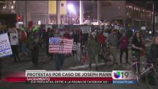 Más de 100 personas protestan por la resolución en el caso de Joseph Mann