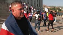 Comunidad cubana en Salt Lake City protesta por la libertad de Cuba