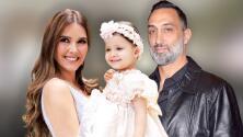 El exesposo de Marlene Favela se lamenta por no haber estado en el bautizo de su hija