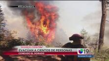 Incendio 'King' ocasiona evacuaciones en El Dorado