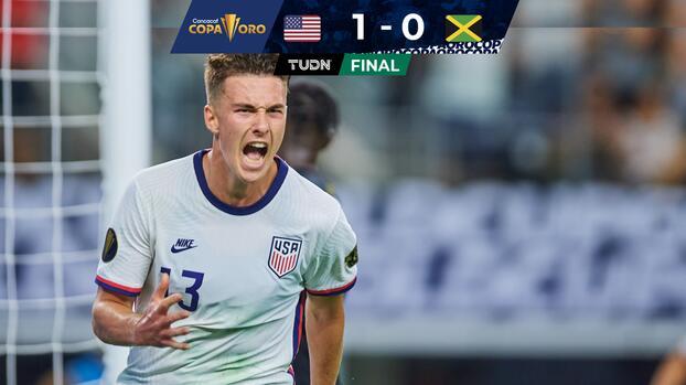 Con apuros, Estados Unidos derrotó a Jamaica y está en Semifinales