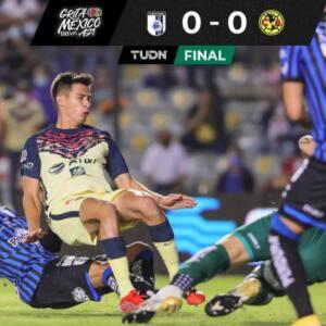 ¡Cuidaron el plumaje! América iguala 0-0 con Querétaro en La Corregidora