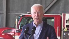 Presidente Joe Biden visita California para evaluar daños de los incendios y apoyar a Newsom