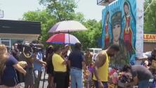 Caravana se une a la familia de la soldado hispana Vanessa Guillén para pedir justicia en Washington DC