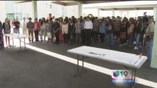 Secundaria de Natomas recordó a César Chávez