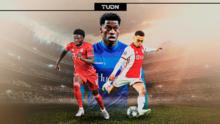 ¡Orgullo de la Concacaf! Dest, Davies y David siguen en el Golden Boy 2020