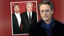 Robert Downey Jr. tuvo una complicada relación con su padre