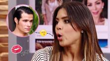 Brandon Peniche da muy buenos besos y Francisca Lachapel lo sabe
