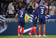 Francia vence sin despeinarse a Finlandia