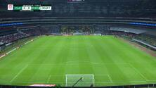 ¡GOL!  anota para Atlético San Luis. Germán Berterame