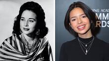 Ángela Aguilar se parece a su abuelita Flor Silvestre cuando era joven: heredó su belleza