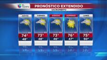 Sacramento tendrá un jueves caluroso