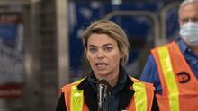 Jefa del subway Sara Feinberg deja la MTA tras más de un año como presidenta interina
