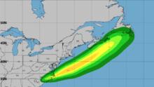 Claudette vuelve a fortalecerse a tormenta tropical camino a la costa de Carolina del Norte