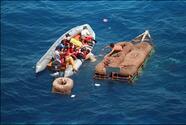 """""""Si toman el mar, no podrán entrar a Estados Unidos"""": Secretario de Seguridad Nacional"""