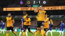 En el último suspiro, los Wolves vencen al Chelsea