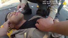 En video: Un oficial de California sufre una sobredosis tras exponerse accidentalmente al fentanilo