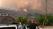 Alcalde Eric Garcetti: Incendio La Tuna es el más grande en la historia de Los Ángeles