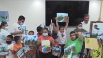 Padres del Valle Central recurren al arte para mejorar la vida de sus hijos con discapacidad