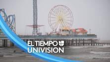 Galveston empieza a volver a la normalidad tras el paso de Nicholas: así está el panorama en las playas