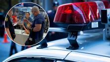 (VIDEO) Hombre forma un escándalo en restaurante y llama la policía porque no le dieron sus papitas