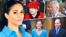 ¿Sin rencores? Meghan Markle es felicitada por el príncipe William, su suegro y la familia real por su cumpleaños 40