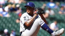 Julio Urías reacciona por marca de ponches en MLB
