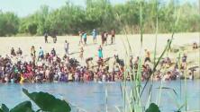 Frontera sur: inmigrantes haitianos desafían las corrientes del Río Bravo para cruzar hacia EEUU