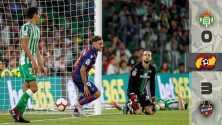 Andrés Guardado y el Betis debutan con derrota en casa ante el Levante