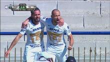 ¡Goool de Pumas, gol de Carlos González y el Olímpico Universitario estalla!
